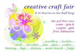 St Martins Craft Fair 3rd Nov 2012